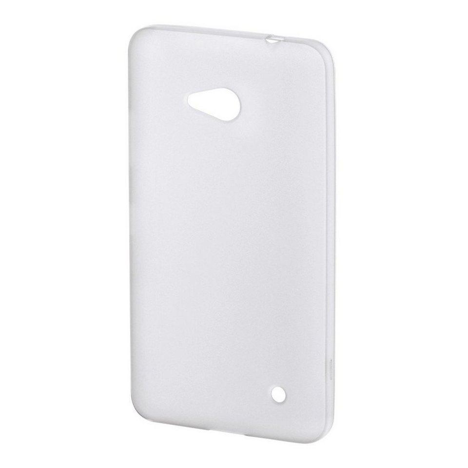 Hama Cover Crystal für Microsoft Lumia 640, Transparent in Transparent