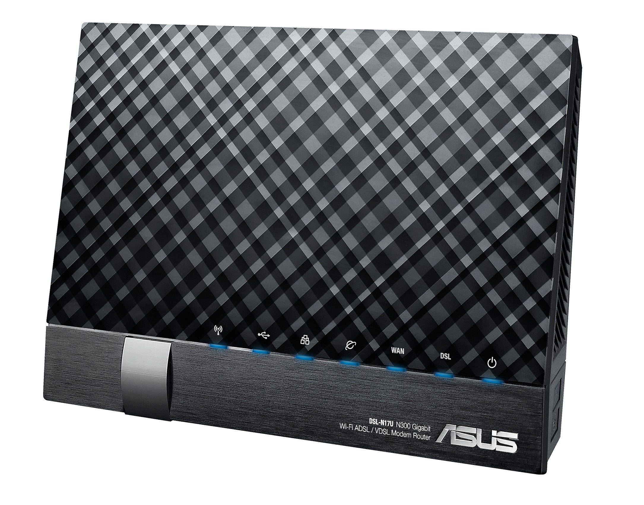 ASUS ASUS DSL-N17U N300 VDSL WLAN Modemrouter