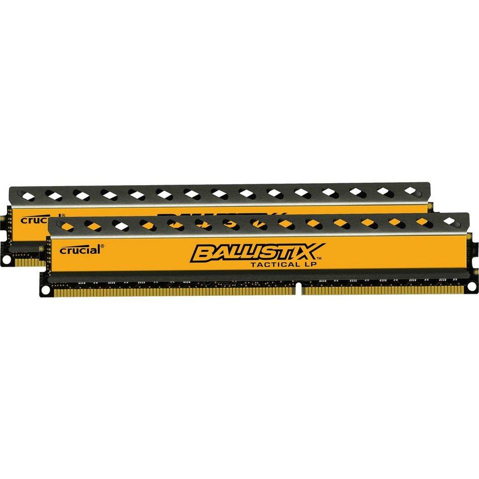 Ballistix Arbeitsspeicher »DIMM 16 GB DDR3-1600 Kit«