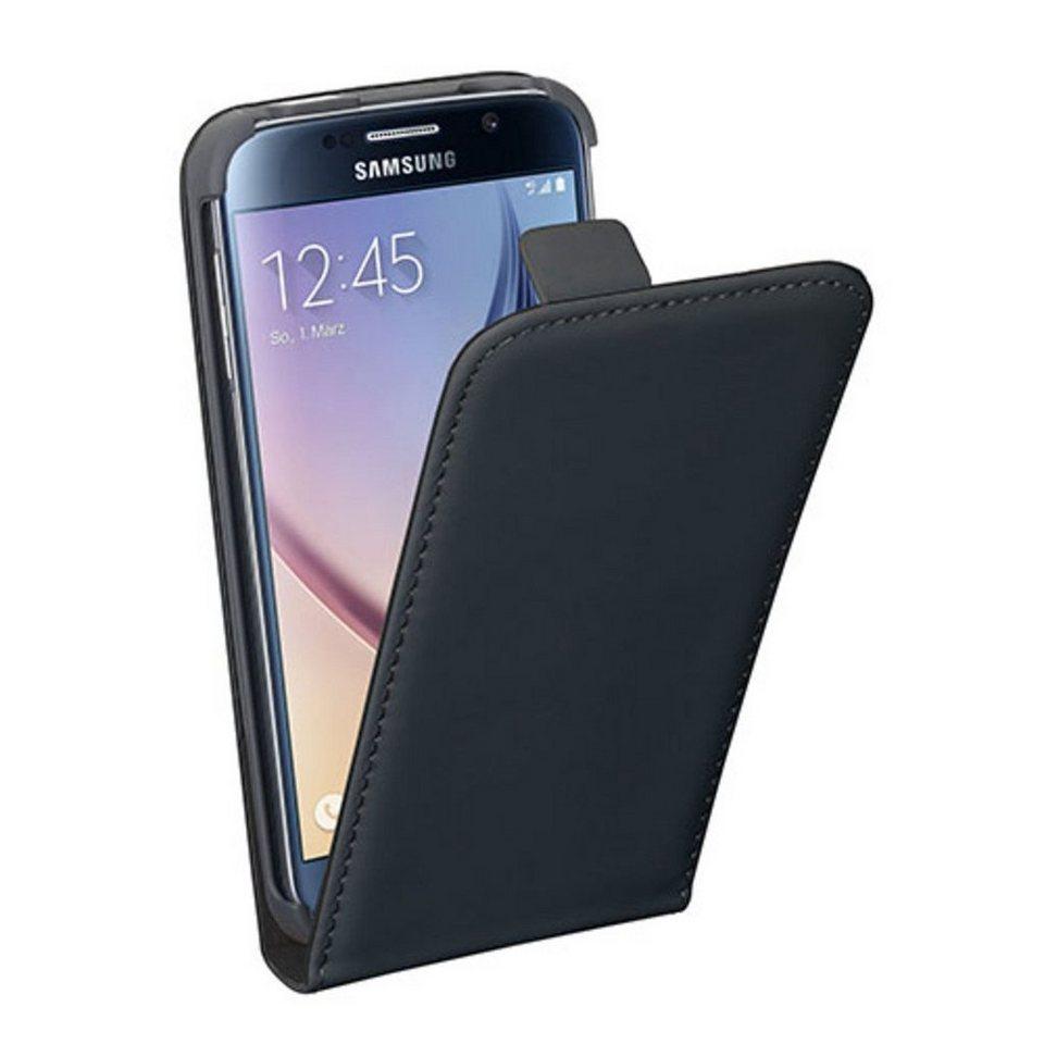PEDEA Handytasche »Flip Cover Classic für Samsung Galaxy S6« in Schwarz