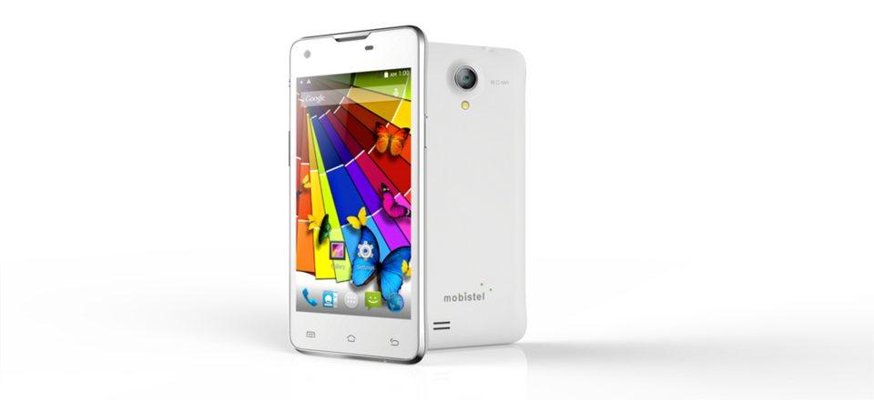 mobistel Smartphone »Cynus E5« in Weiß