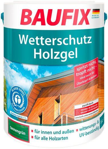 Baufix Holzschutzlasur »Tannengrün«, 5 Liter, grün