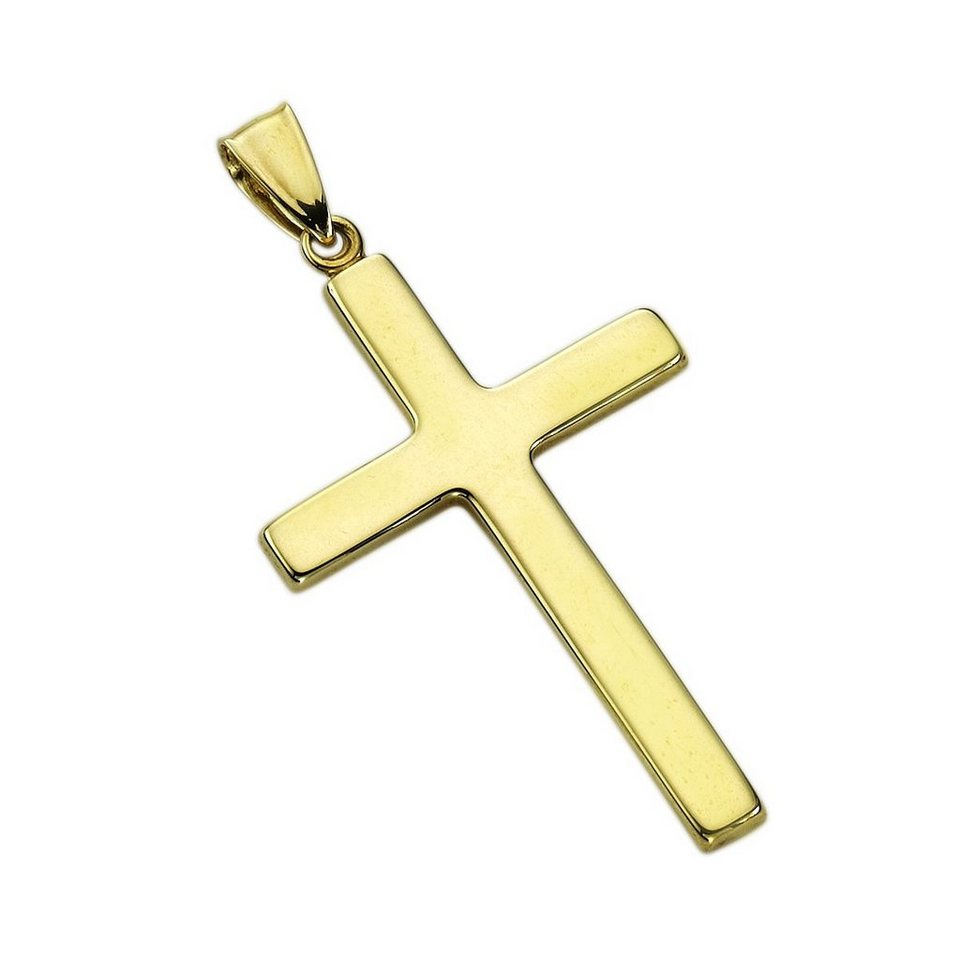 Fascination by Ellen K. Anhänger »333/- Gelbgold Kreuz« in gelb