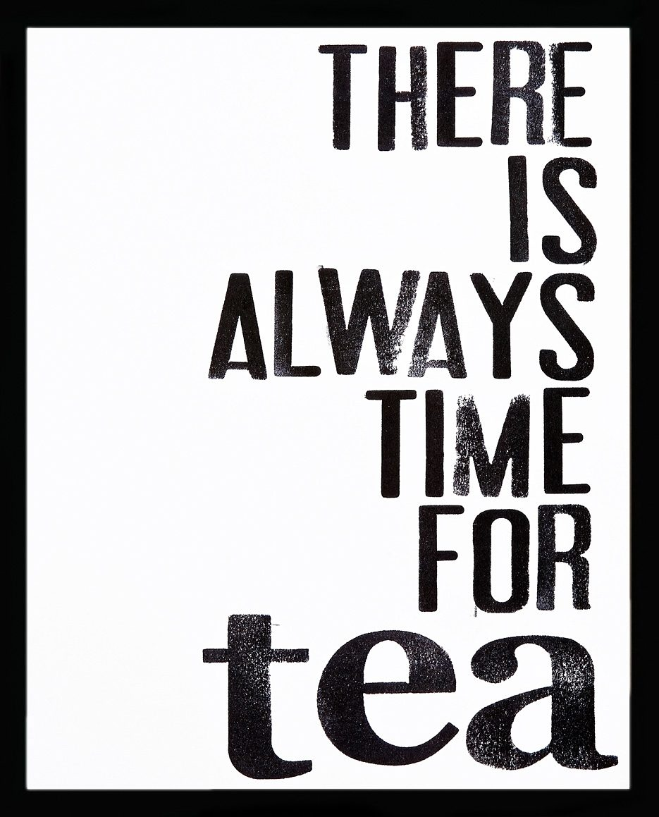 G&C gerahmter Kunstdruck »Time for Tea«, 43/53 cm