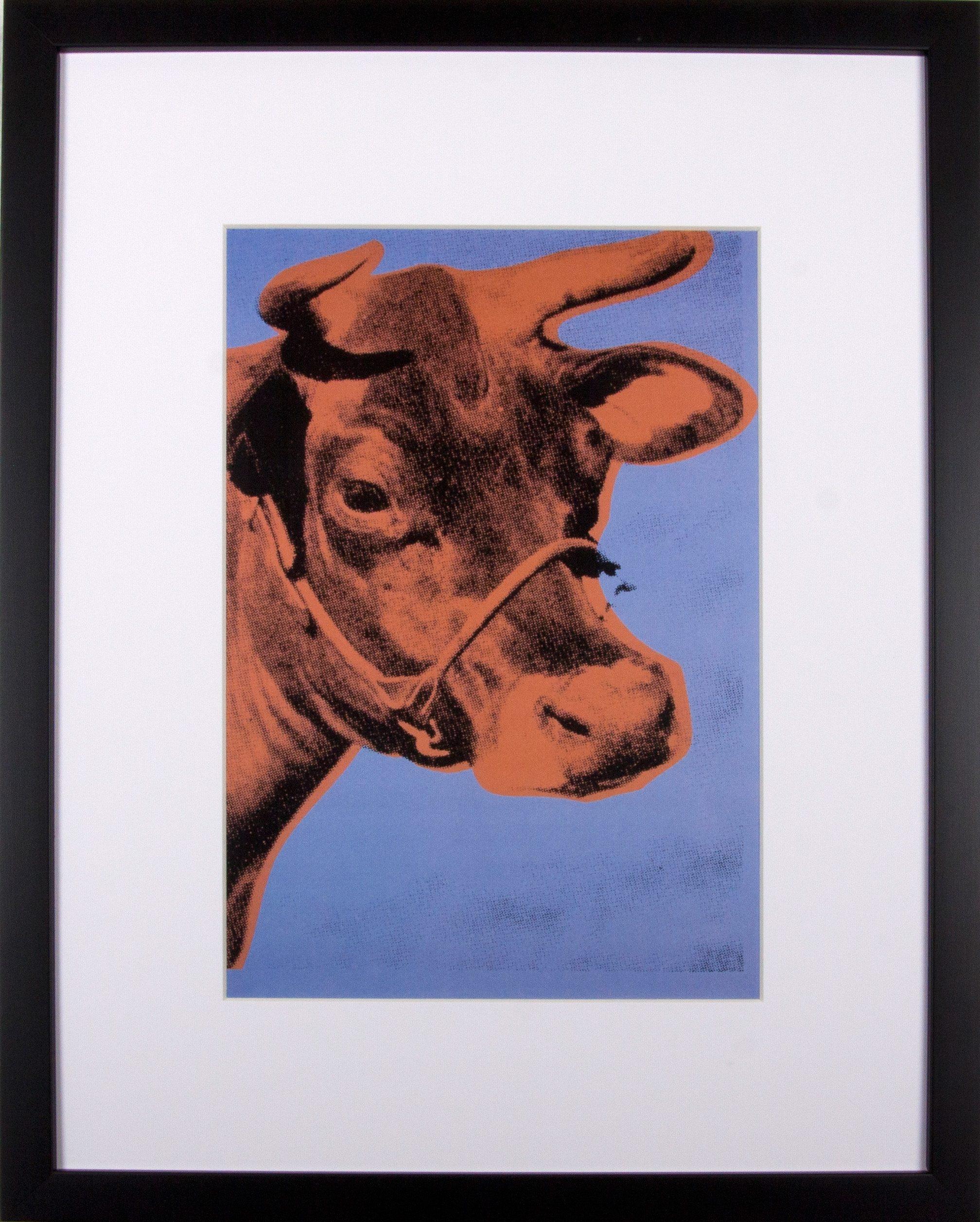 Home affaire gerahmter Kunstdruck »Die rote Kuh«, 33/43 cm