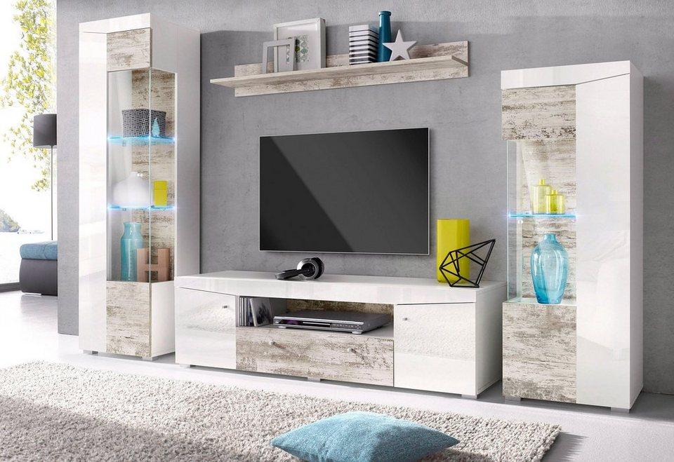 Tv-Wand Online Kaufen » Tv-Schrank & Mediawand | Otto
