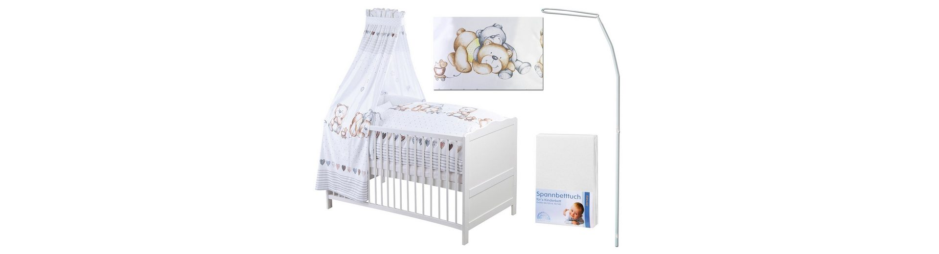 Set: für Babys & Kleinkinder, »Jan Schmusebär«, Zöllner (6-tlg.)
