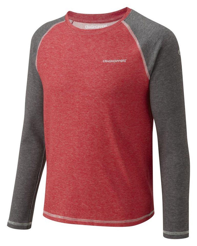 Craghoppers NosiLife Langarm Shirt Zecken und Insektenschutz »Bugo « in Red Marl