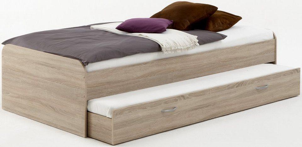 fmd funktionsbett mit zweiter schlafgelegenheit zum ausziehen online kaufen otto. Black Bedroom Furniture Sets. Home Design Ideas