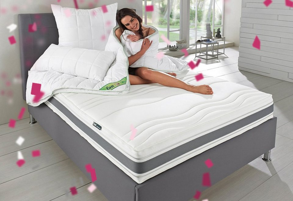 microfaserbettdecke kunstfaserkissen greenfirst f a. Black Bedroom Furniture Sets. Home Design Ideas