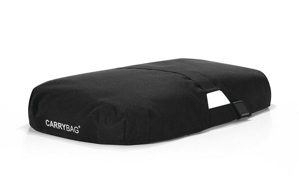 Reisenthel® Carrybag cover in schwarz