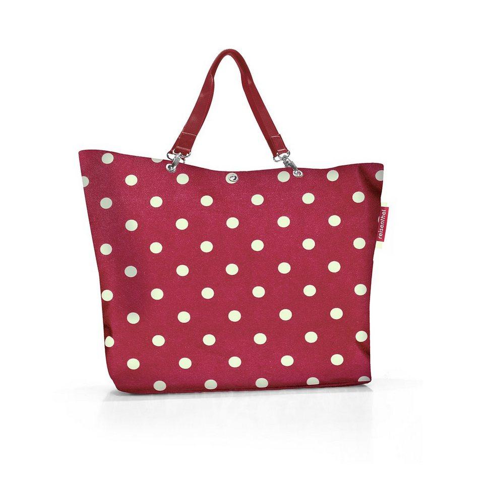 Reisenthel® Shopper XL ruby dots in Rot