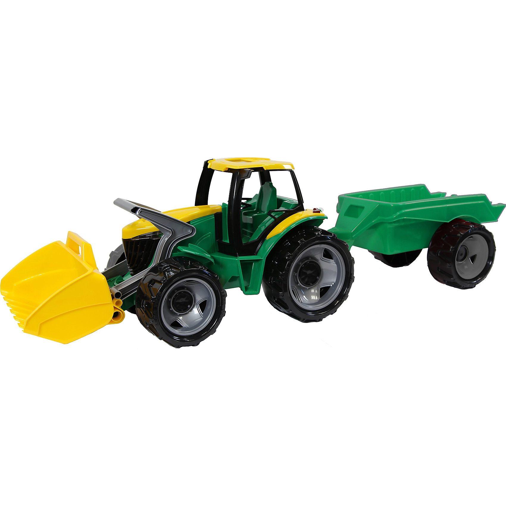 LENA Großfahrzeug Traktor mit Anhänger