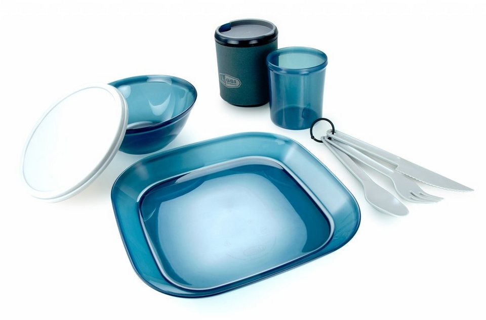 GSI Camping-Geschirr »Infinity 1 Person Tableset« in blau