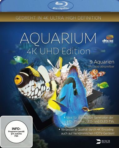 Blu-ray »Aquarium 4K UHD Edition«