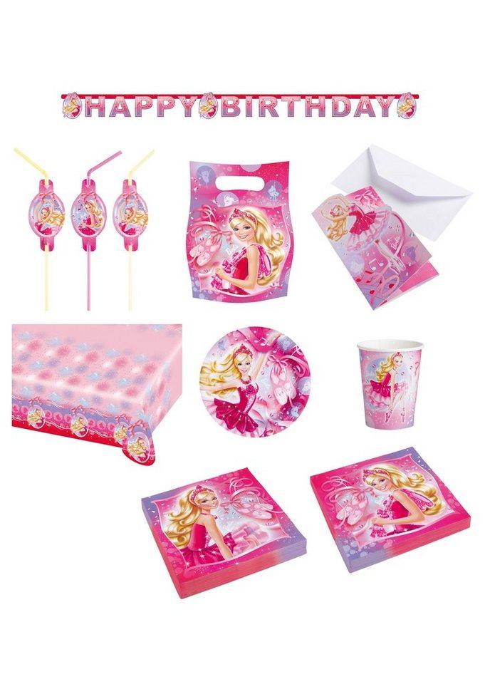 Riethmüller Geburtstagsset, »Barbie Pink Shoes« (58-tlg.)