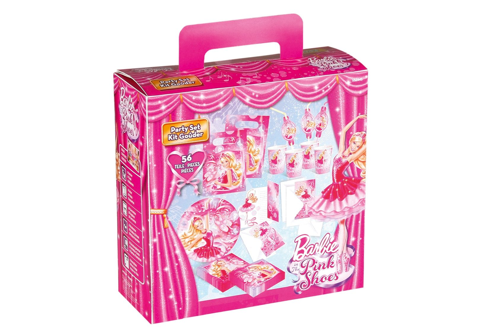 Amscan Geburtstagsset, »Barbie Pink Shoes« (56-tlg.)