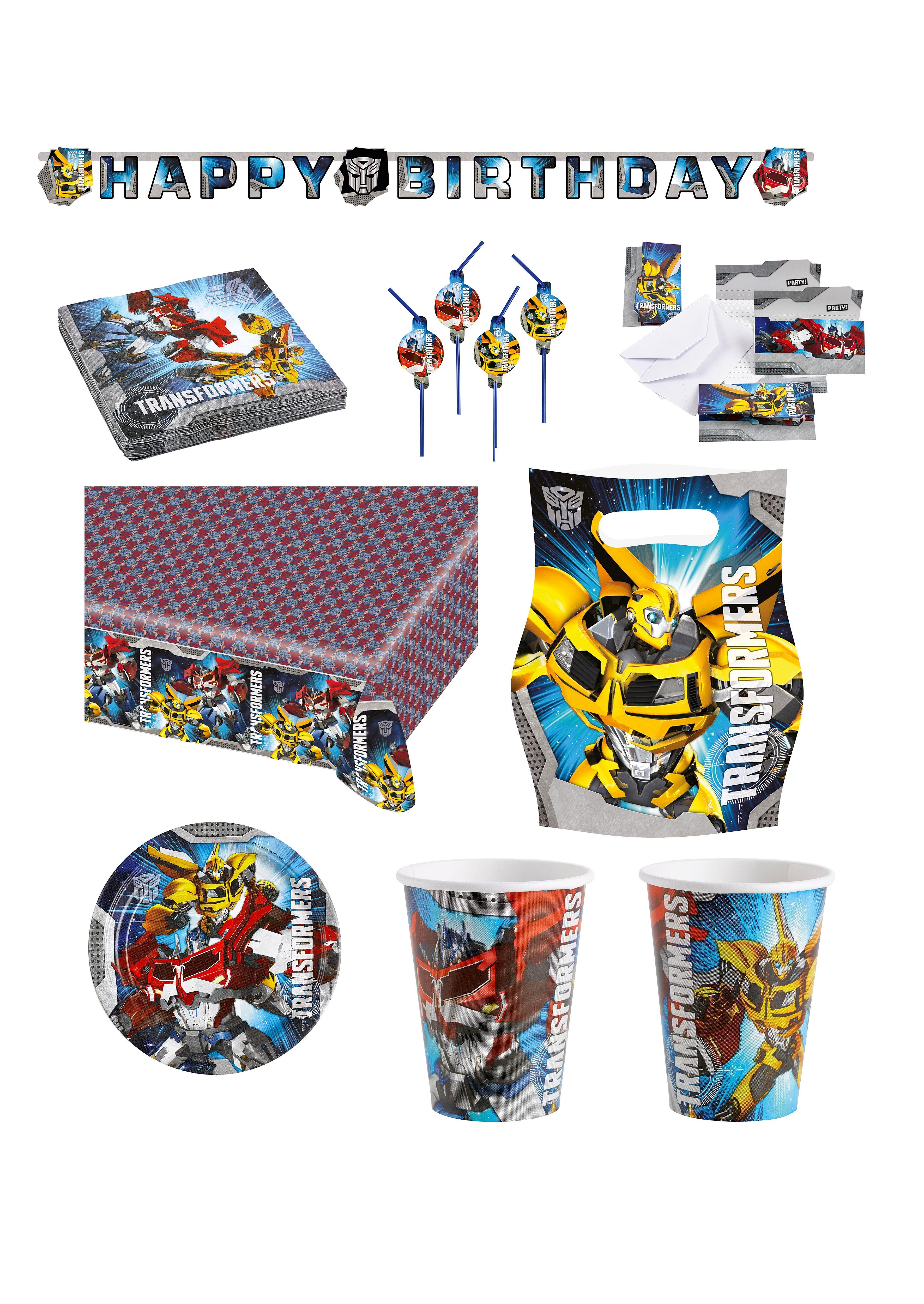 Riethmüller Geburtstagsset, »Transformers« (58-tlg.)