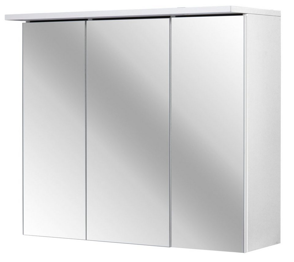 Spiegelschrank »Flex« Breite 70 cm, mit LED-Beleuchtung in weiß