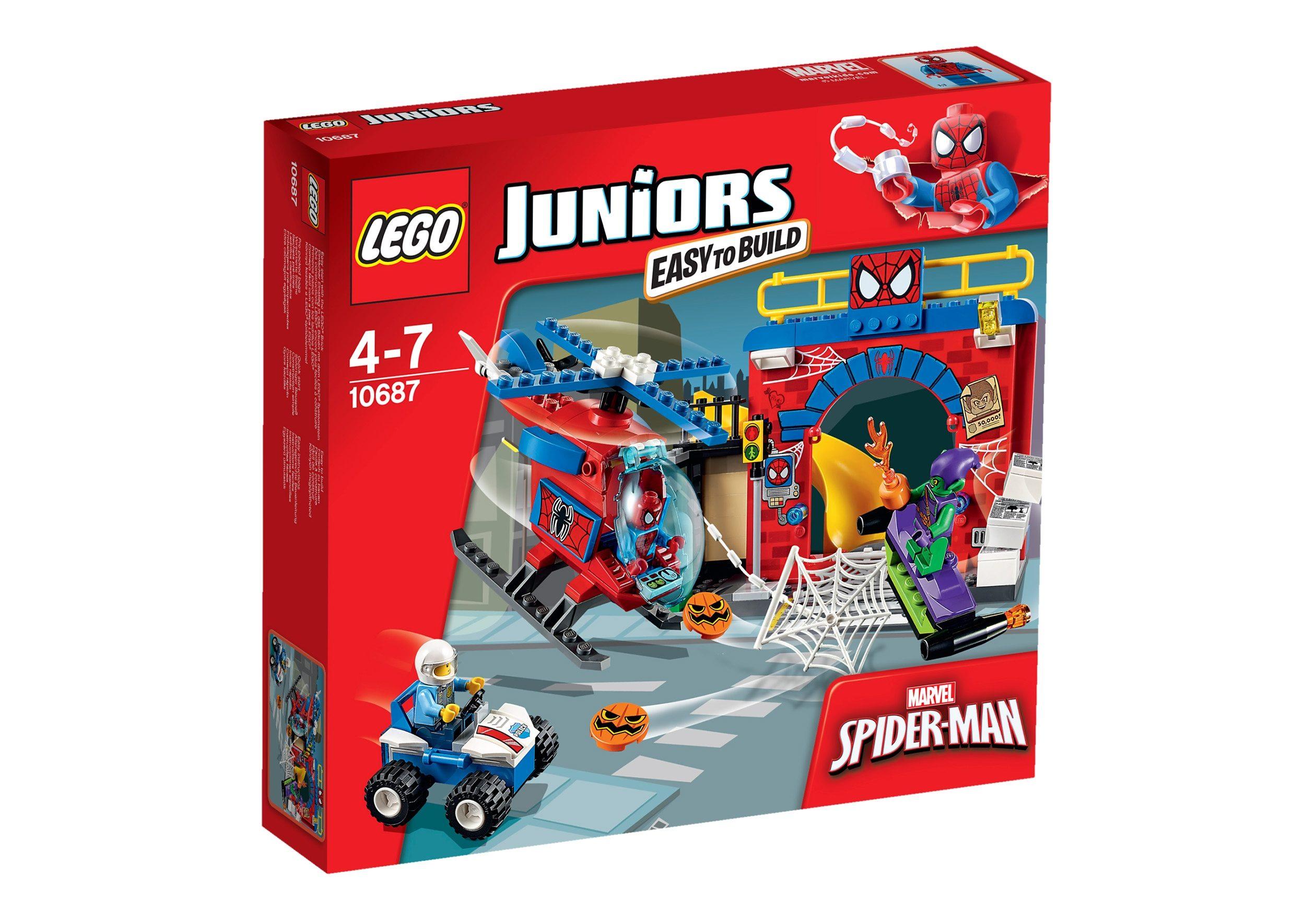 LEGO®, Spider Man Versteck (10687), »LEGO® Juniors«