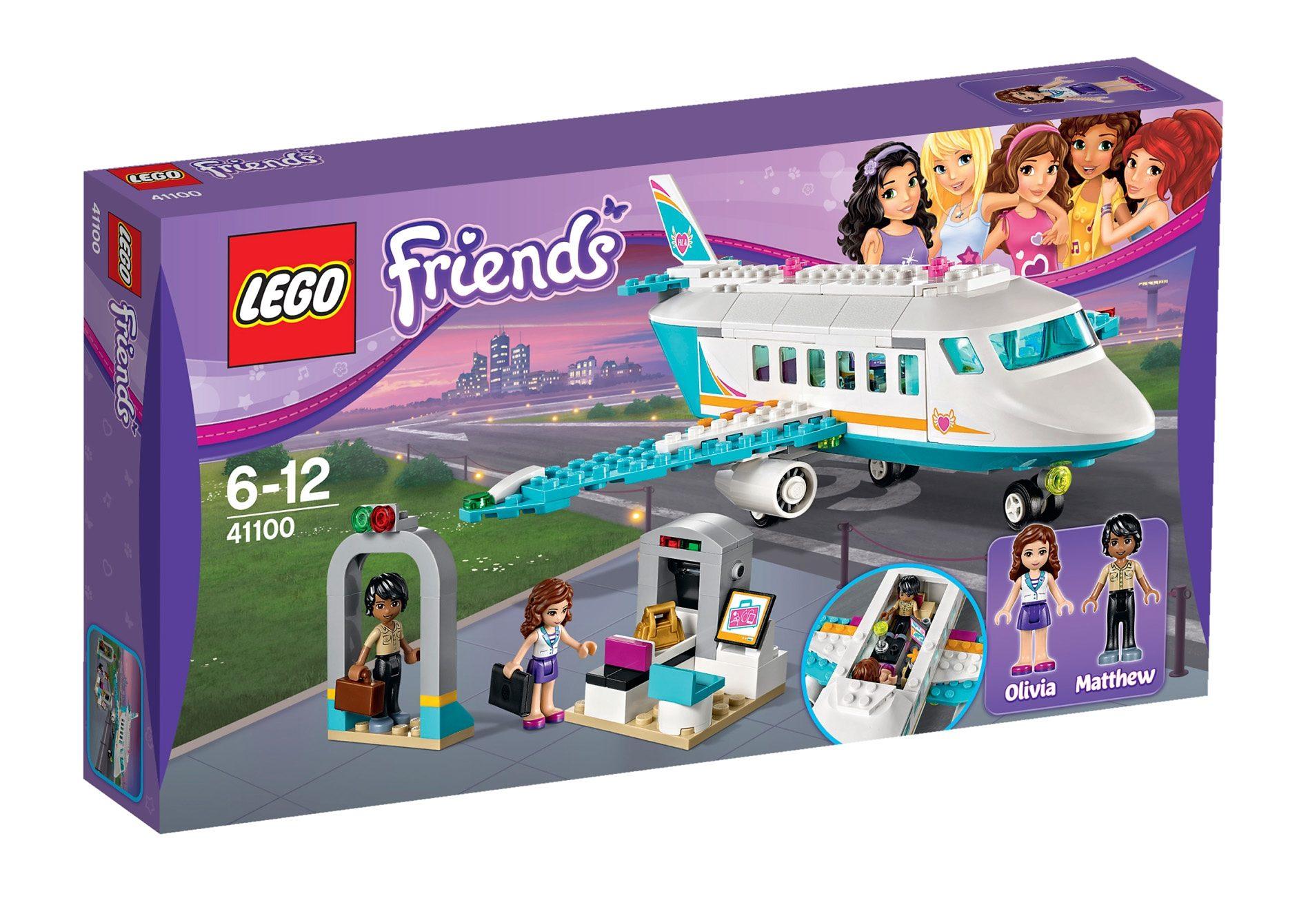 LEGO® Heartlake Jet (41100), »LEGO® Friends«