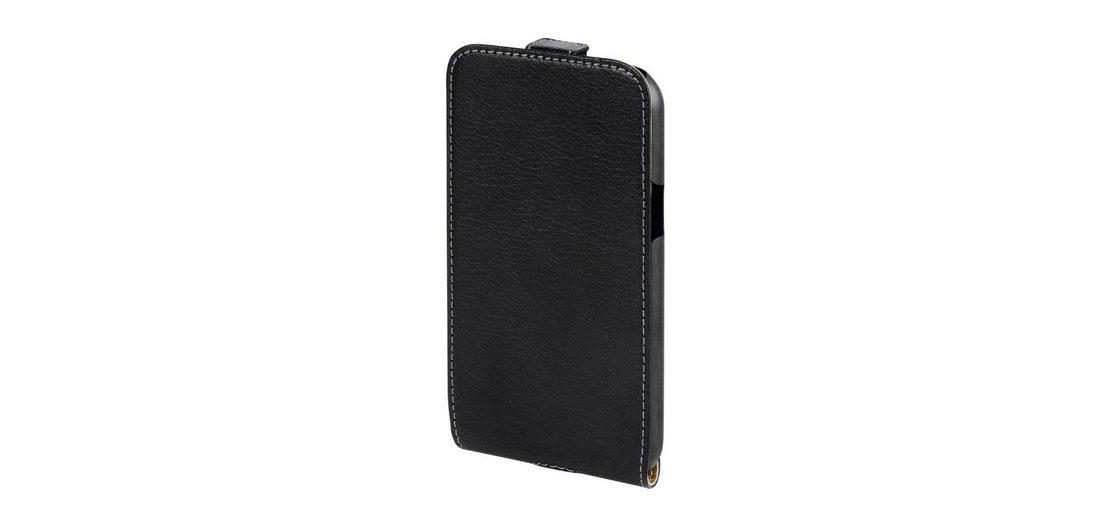 Hama Leder Hülle für Samsung Galaxy J1 Handytasche Handycase »Handy Schutzhülle Flip Case«