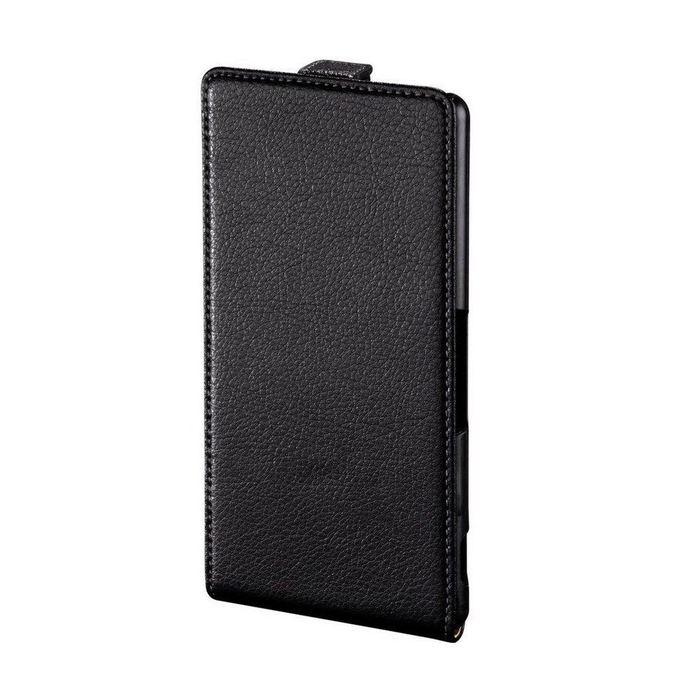Hama Flap-Tasche Smart Case für Sony Xperia M4 Aqua, Schwarz in Schwarz