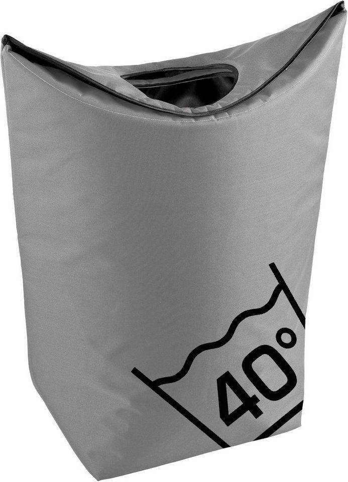 Wäschesammler, Zone, »Confetti« in Grau