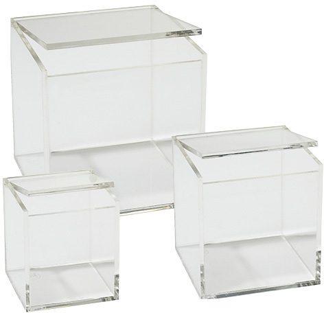 Acryl-Boxen, Zone, »Confetti« ( 3 Stck.)