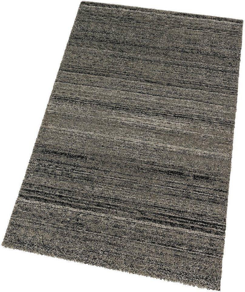Teppich, Astra, »Samoa Melange«, maschinell gewebt, Wunschmaß in anthrazit