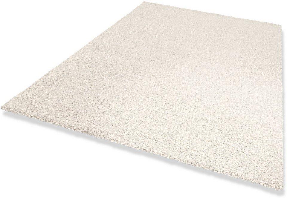 Teppich, »Wellness«, Hochflor, Höhe 22 mm, Wunschmaß, Dekowe in weiss