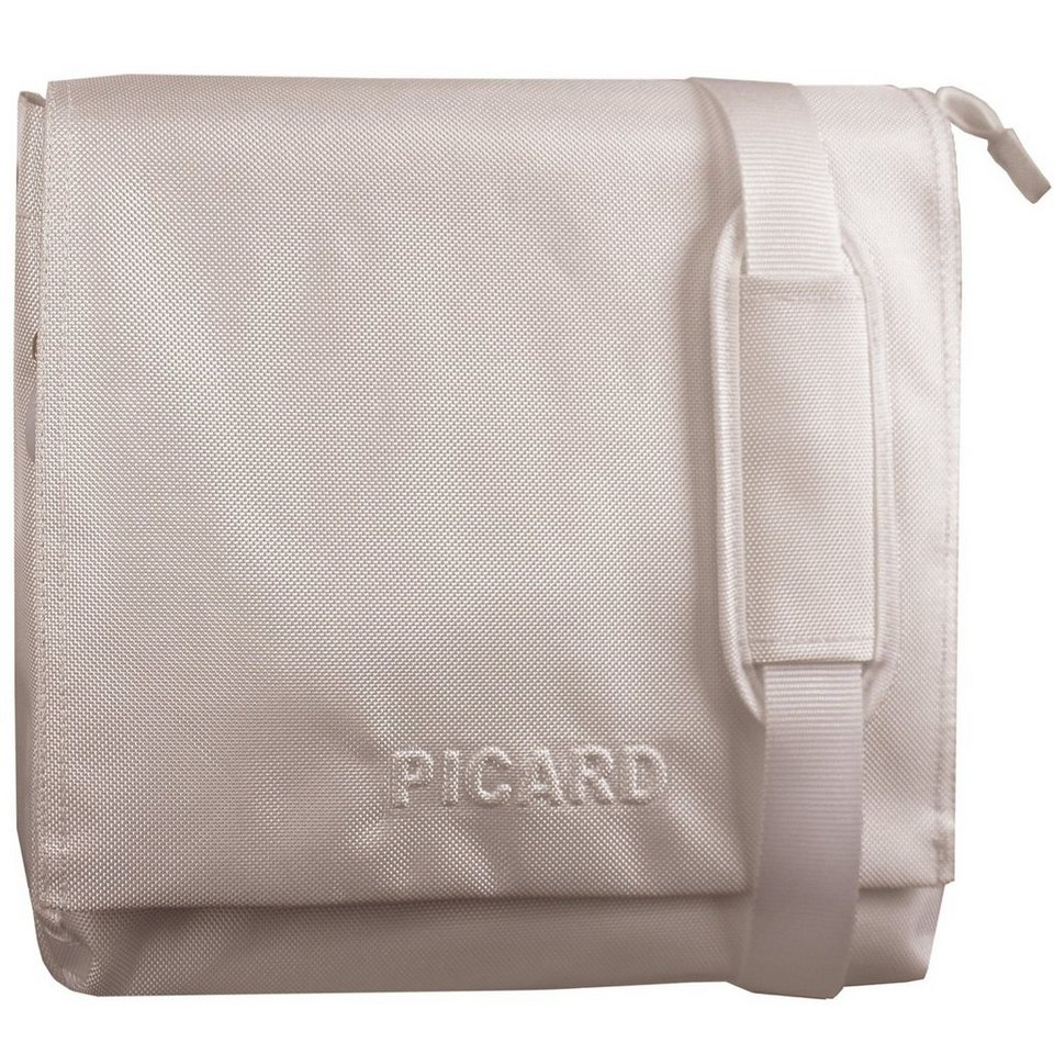 Picard Hitec Messenger Nylon 34 cm in creme