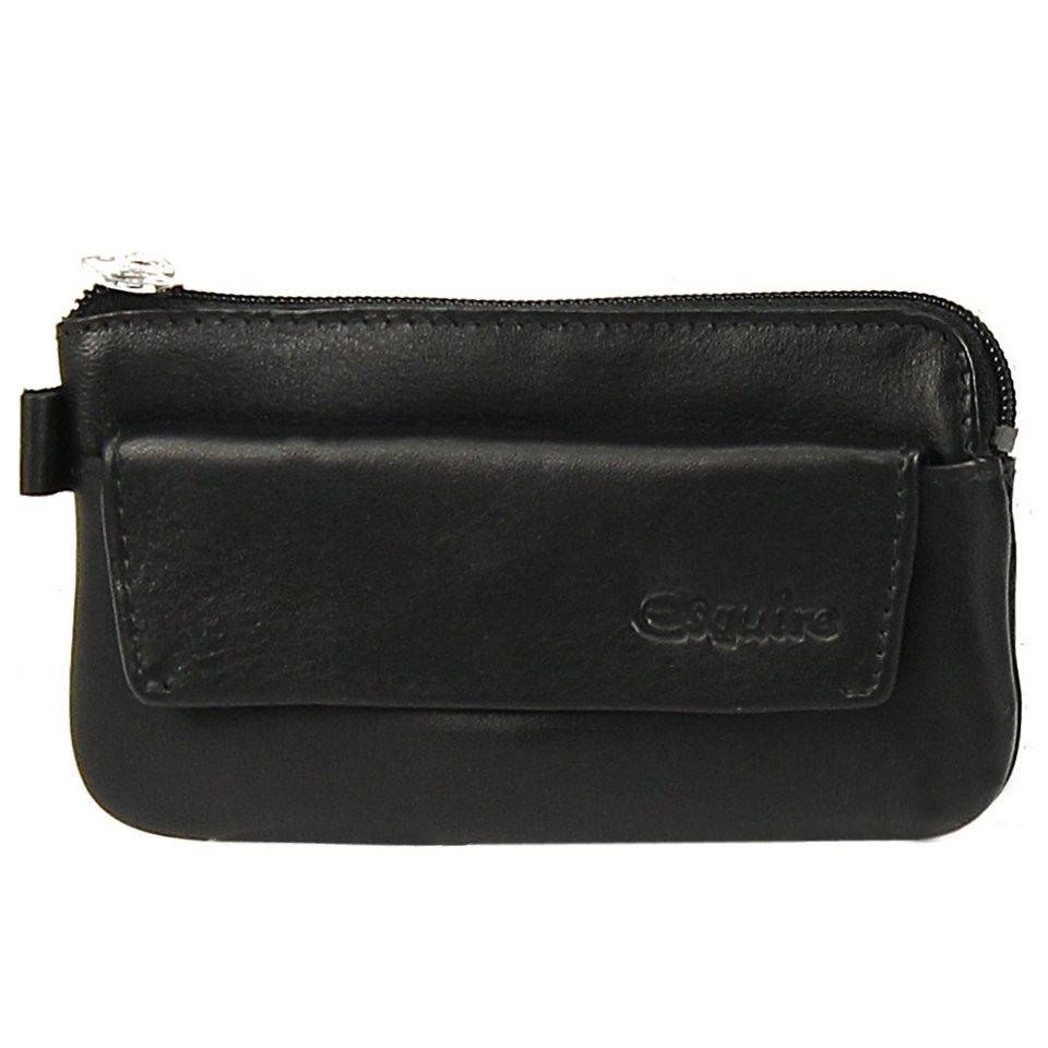 Esquire Silk Schlüsseletui Leder 11,5 cm in black
