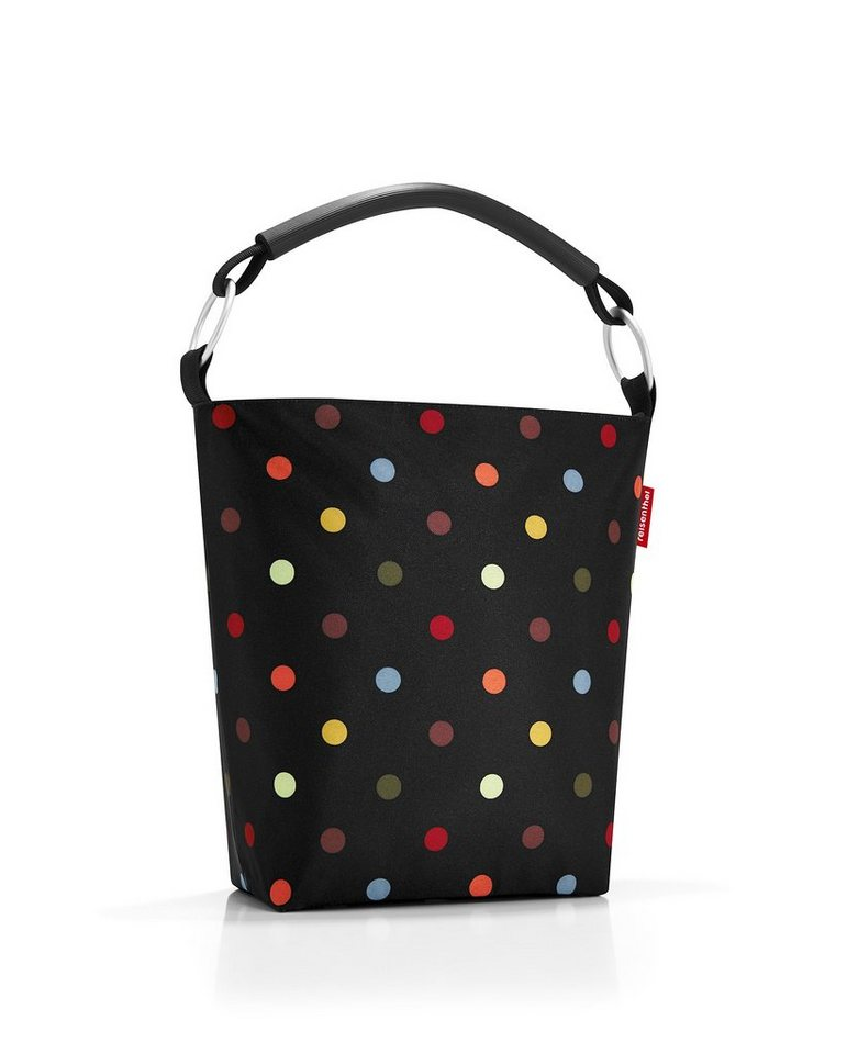 REISENTHEL® Ringbag L dots in Schwarz