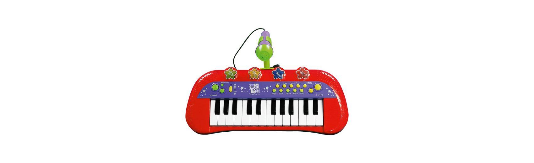 Keyboard mit Mikrofon Concerto, 24 Tasten