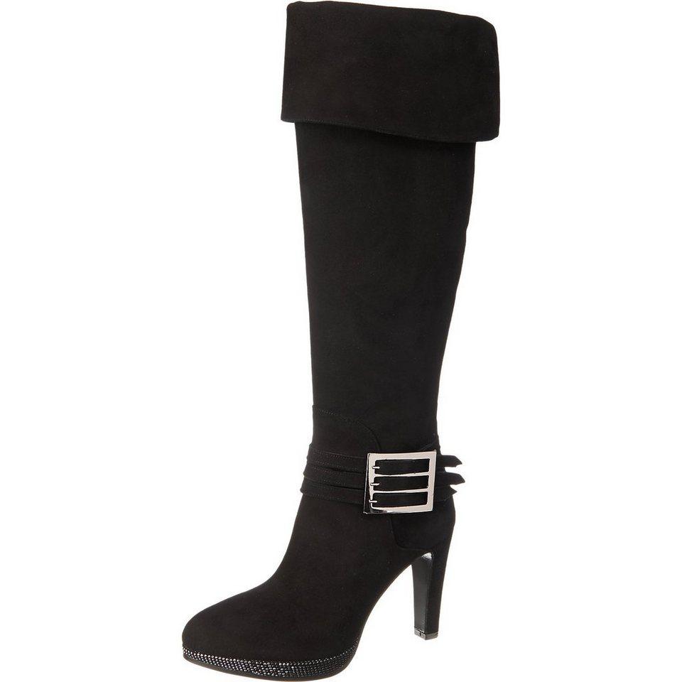 Franco Russo Stiefel in schwarz