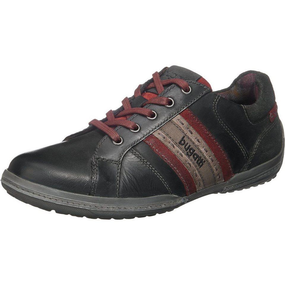 bugatti Sneakers in schwarz-kombi