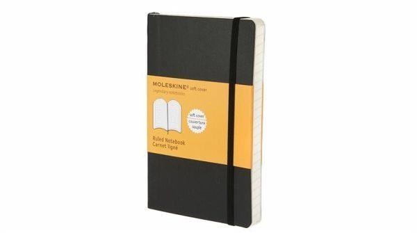 Buch mit Kunststoff-Einband »Moleskine. Notizbuch liniert klein«