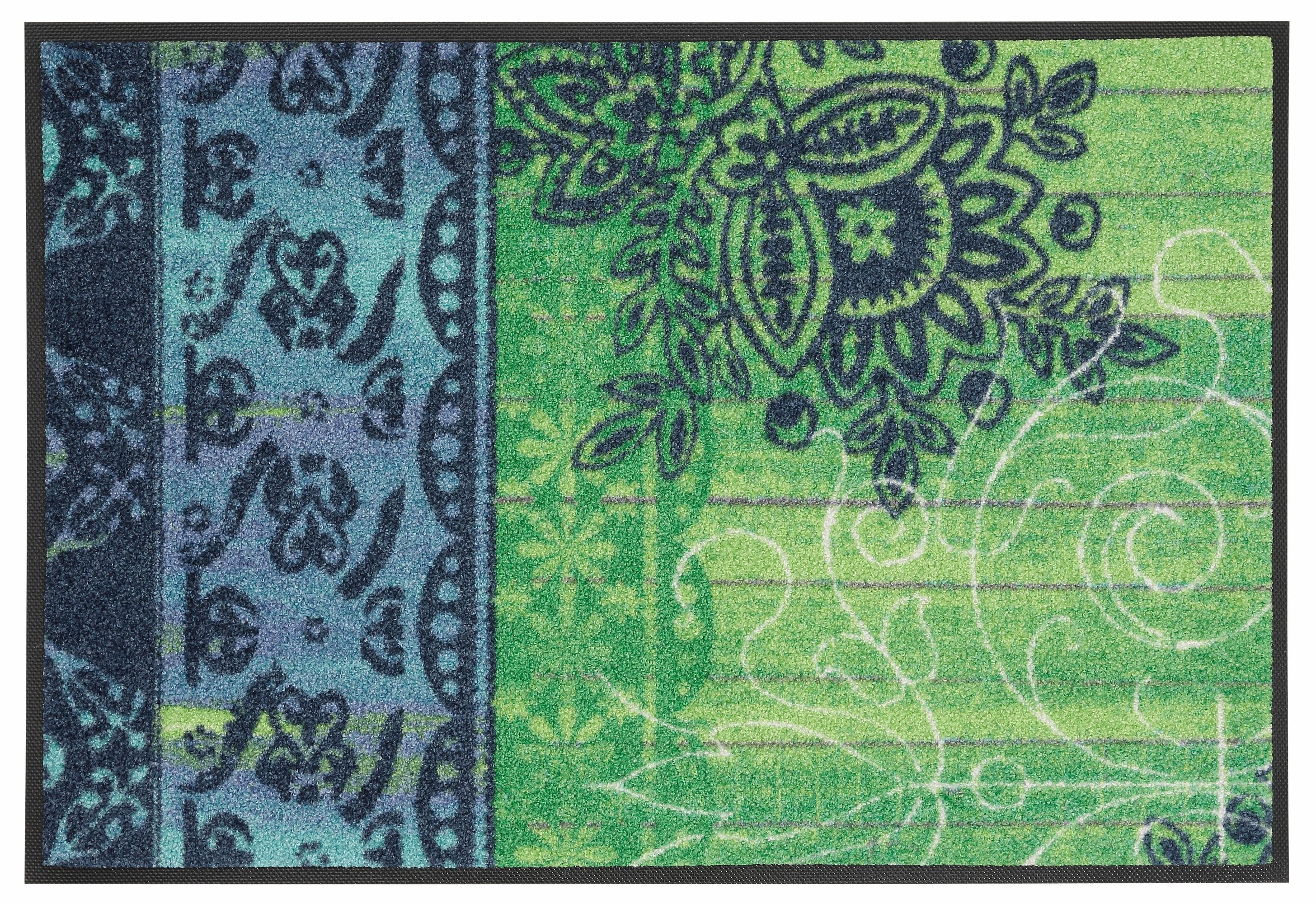 Fußmatte »Borda«, wash+dry by Kleen-Tex, rechteckig, Höhe 9 mm