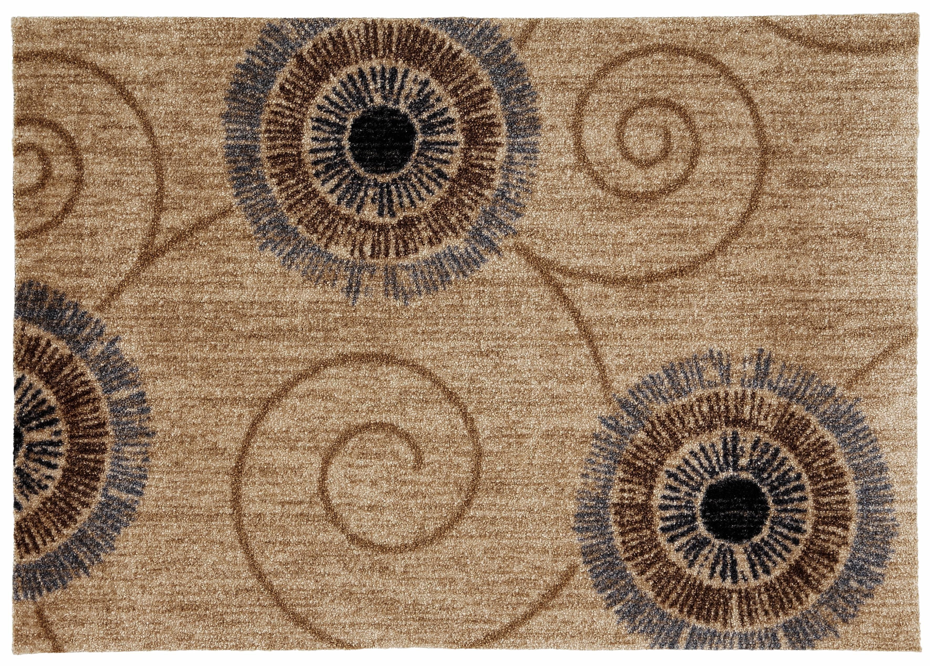Fußmatte »Chiaro«, wash+dry by Kleen-Tex, rechteckig, Höhe 9 mm