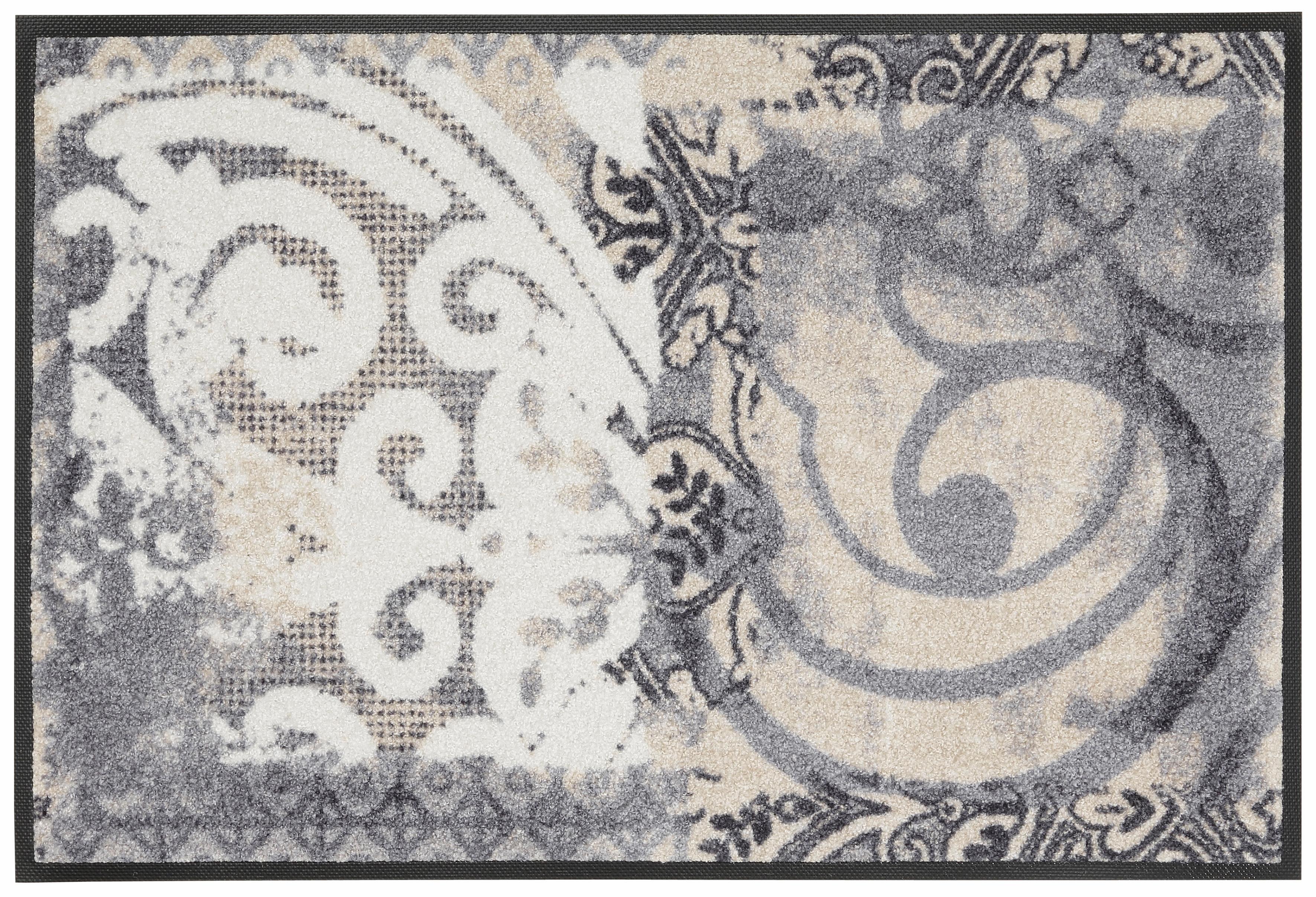 Fußmatte »Arabesque«, wash+dry by Kleen-Tex, rechteckig, Höhe 9 mm