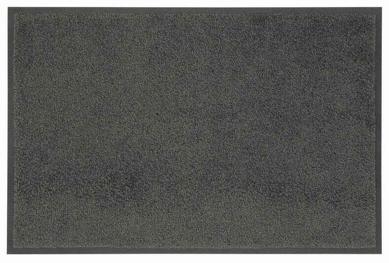 Fußmatte »Original Uni«, wash+dry by Kleen-Tex, rechteckig, Höhe 7 mm, In- und Outdoor geeignet, waschbar