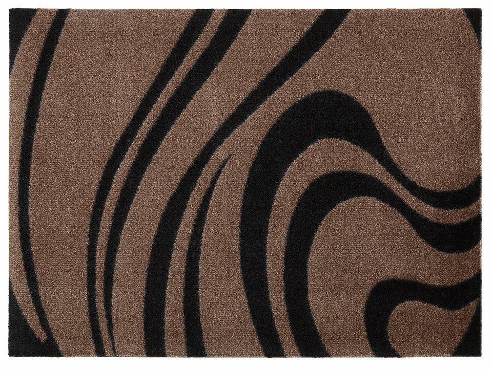 fu matte waves wash dry by kleen tex rechteckig h he. Black Bedroom Furniture Sets. Home Design Ideas
