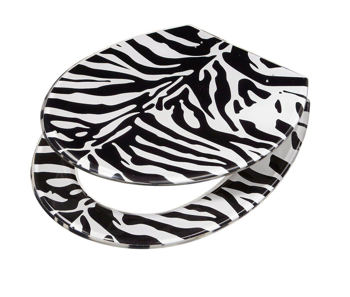 WC-Sitz »Zebra«