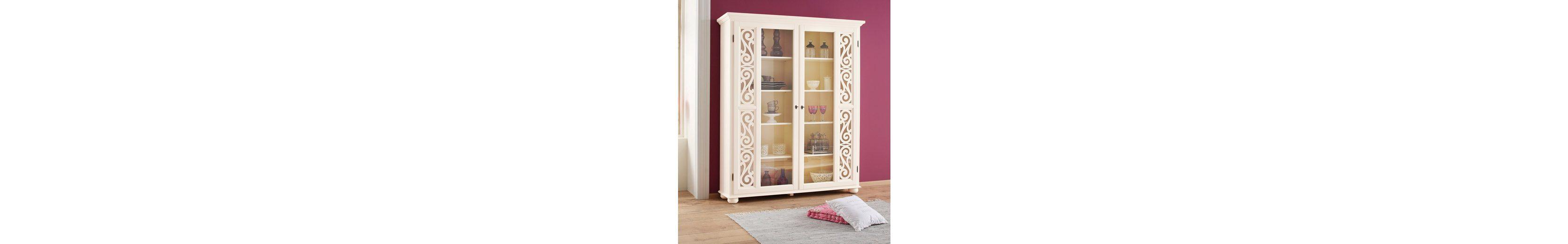 Premium collection by Home affaire Vitrine »Arabeske«, Höhe 190 cm