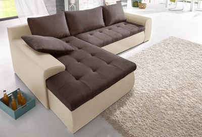 eckschlafcouch. Black Bedroom Furniture Sets. Home Design Ideas