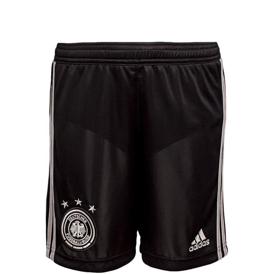 adidas Performance DFB Trainingsshort WM 2014 Kinder in schwarz / silber