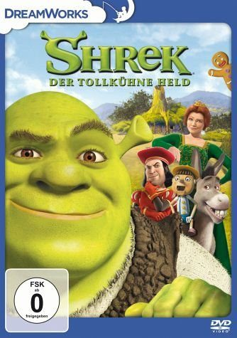 DVD »Shrek - Der tollkühne Held«