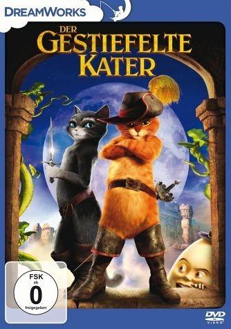 DVD »Der gestiefelte Kater«