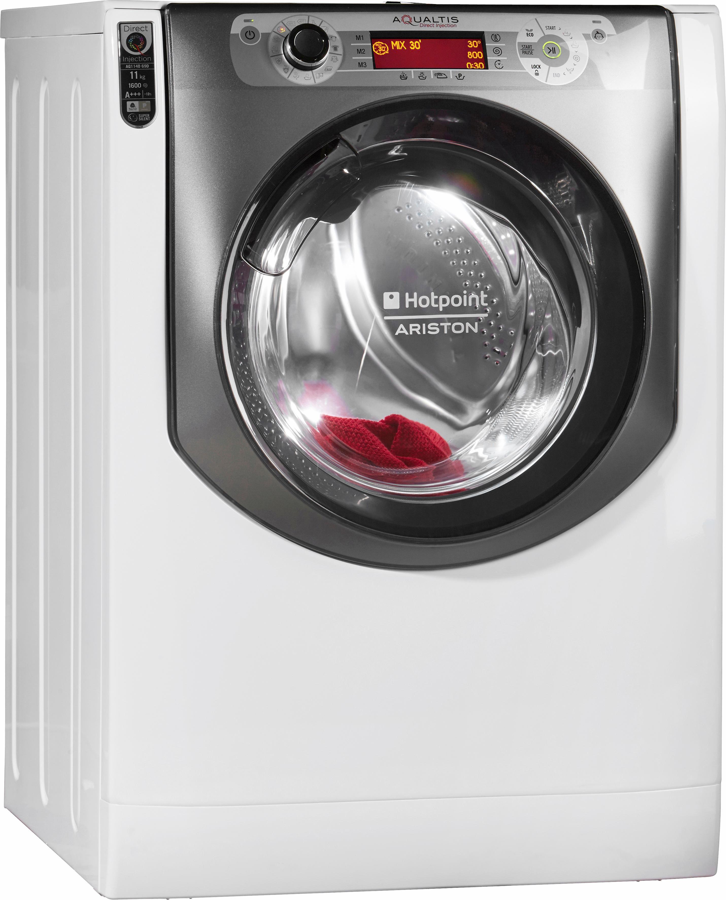 Hotpoint Waschmaschine AQ114D 69D EU/A, A+++, 11 kg, 1600 U/Min